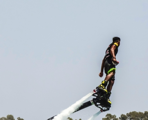 Fly boarding in Croatia