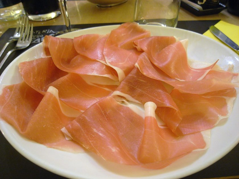Croatian food: Prosciutto