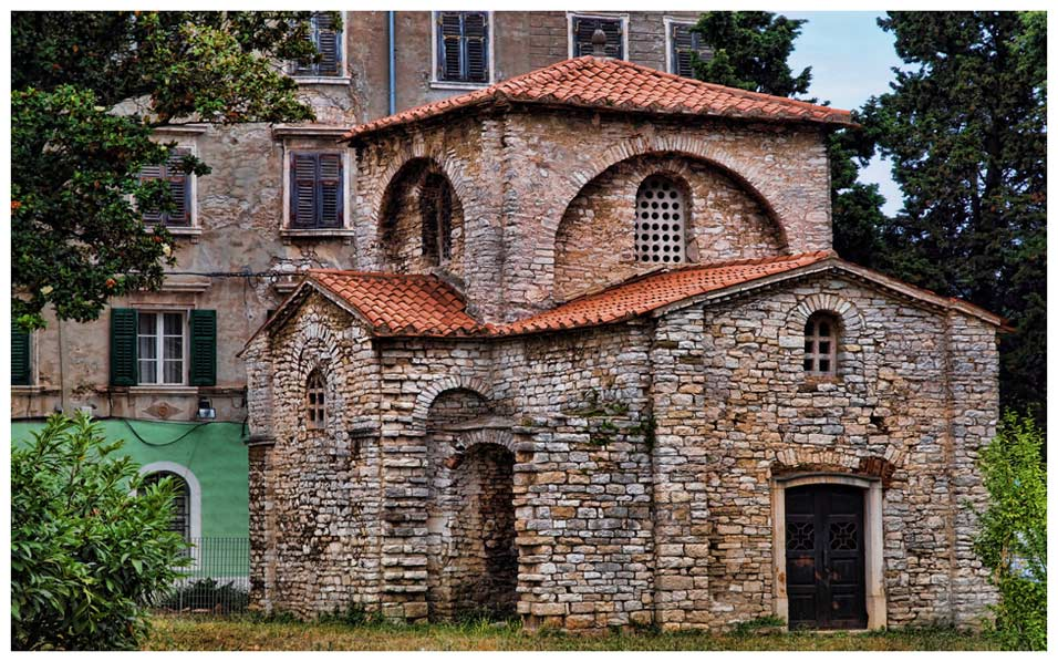 Old building in Pula