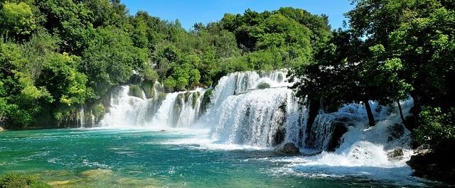 Krka national park near Šibenik