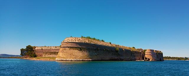 Šibenik fort attraction