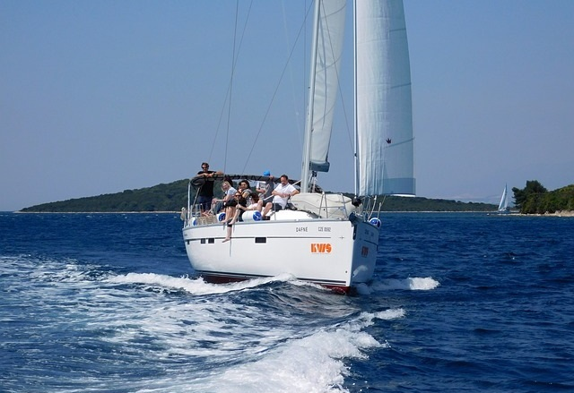 Sailing in Šibenik