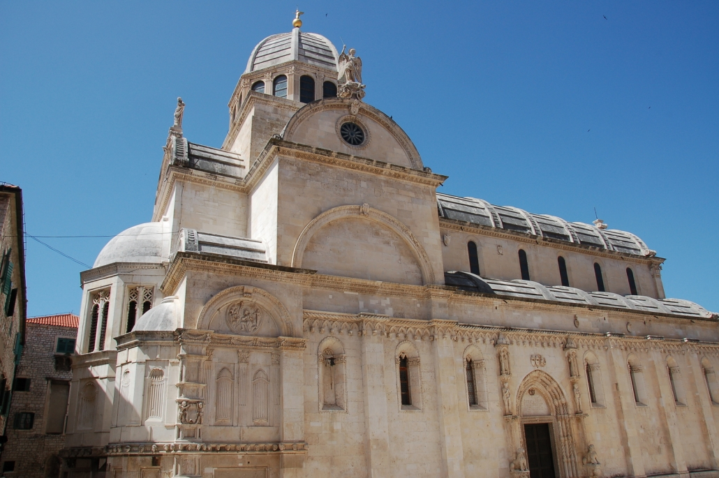 cathedral in šibenik