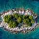 Beautiful islands and islets in Croatia