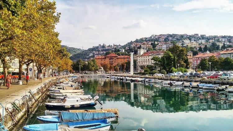 Rijeka, Kvarner bay