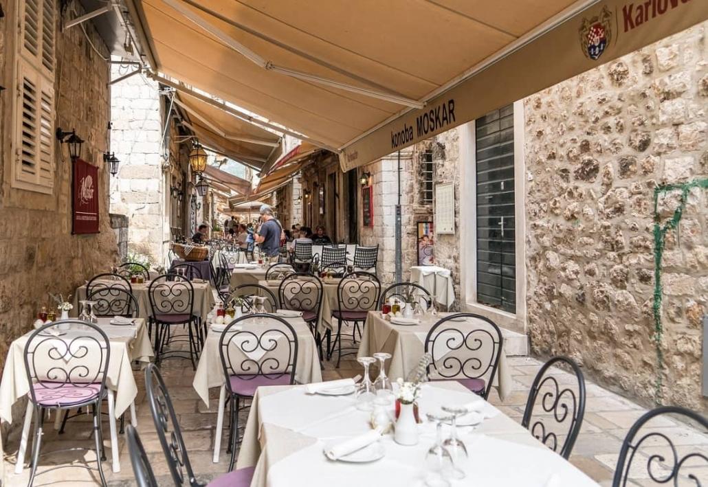 Tipping in Croatia's restaurants